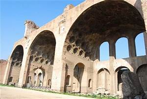 Basilica of Maxentius - Rome, Italy - Ancient Roman ...