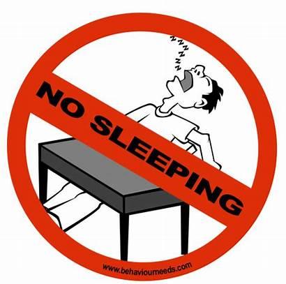 Signs Classroom Sleeping Zone Tidur Dilarang Rules