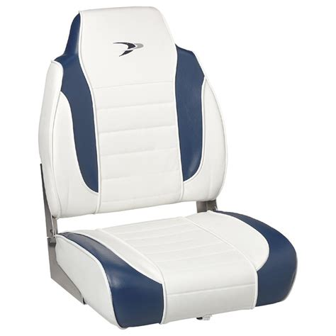 Fishing Boat Seats Clearance by Wise 174 Embroidered Logo Hi Back Fishing Boat Seat