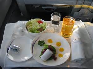 China Airlines Business Class Food