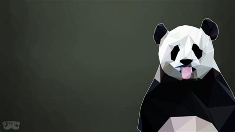 Low Poly Animal Wallpaper - panda poly animals low poly hd wallpapers desktop and