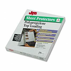 amazoncom oxford 06550 top loading clear poly archival With archival document protectors