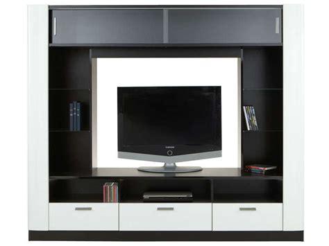 canapé vigo conforama meuble tv laque noir et blanc torino