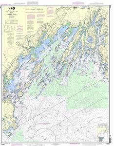 Noaa Chart 13290 Casco Bay