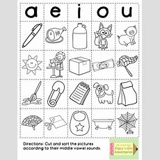 Fun With Phonics Word Work Style!  Tk September  Phonics Words, Short Vowel Sounds, Phonics