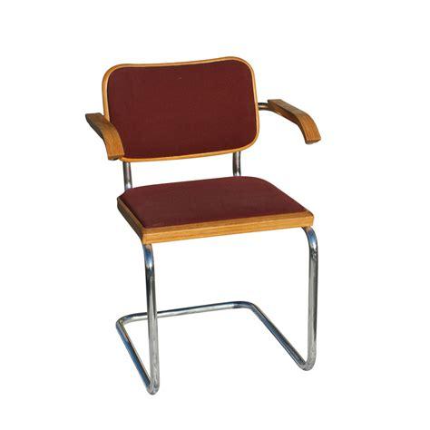 Marcel Breuer Cesca Chair by Knoll Marcel Breuer Cesca Side Chair Burgundy Ebay