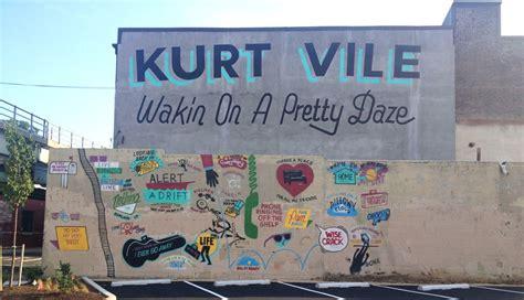 Kurt Vile Mural Philadelphia by Kurt Vile Mural Restored Ticket