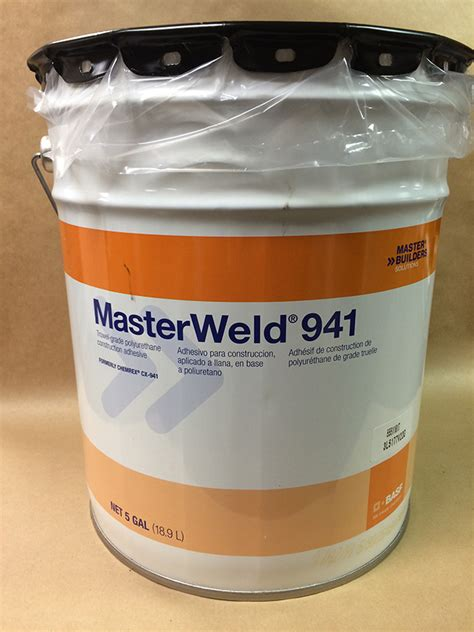 masterweld 941 indoor outdoor rubber flooring adhesive