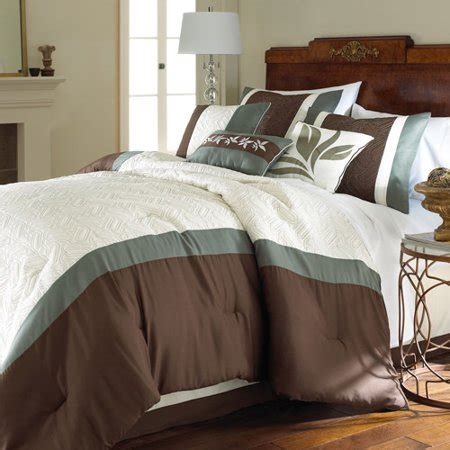 pacific coast comforter pacific coast textile 8 embroidered comforter set