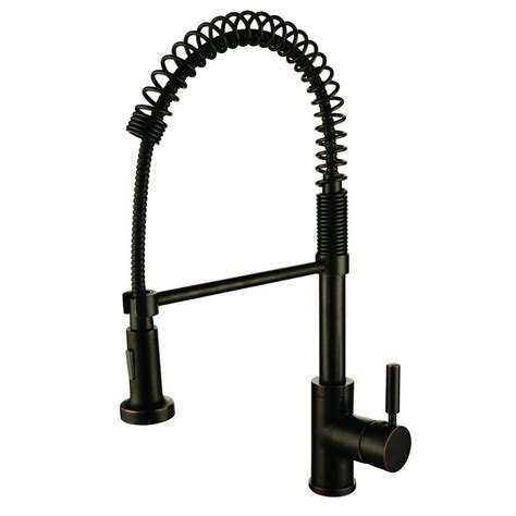 oil rubbed bronze sink sprayer y decor foreman single handle pull out sprayer kitchen