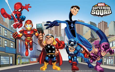 Download Super Hero Squad Wallpapers Gif