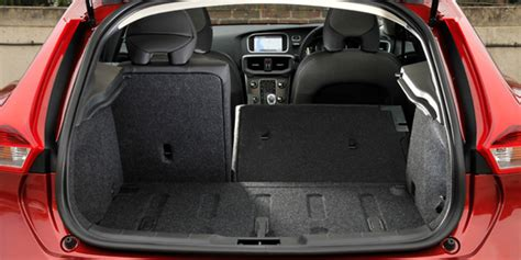 volvo  cross country boot space capacity liters