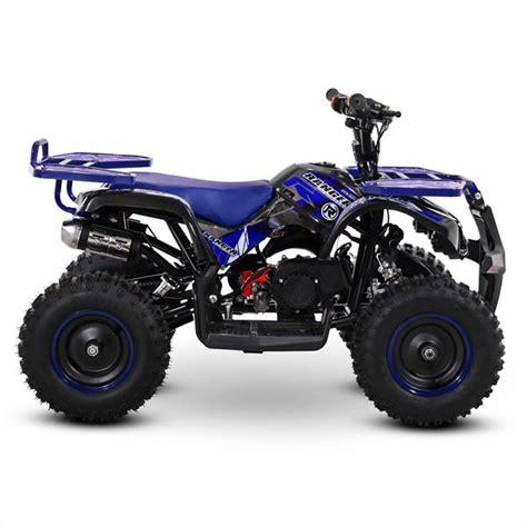 Enquire online or call 01623 708 607. FunBikes Ranger 50cc Blue Kids Petrol Mini Quad Bike