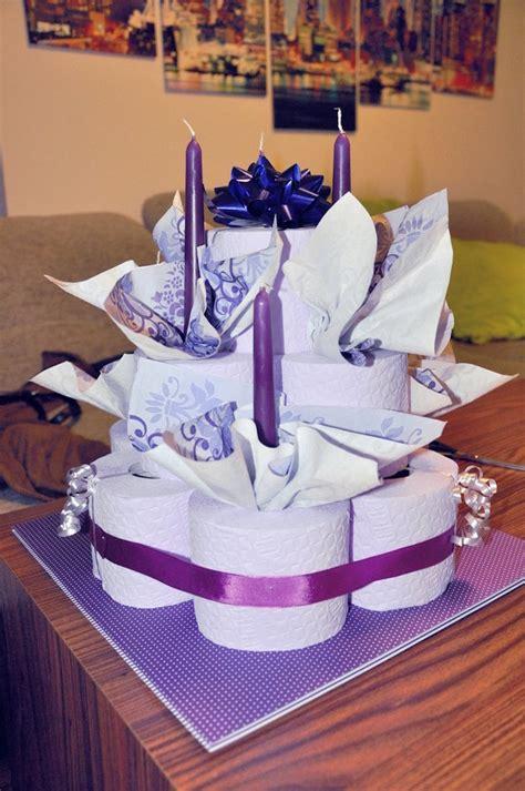 torte aus klopapier basteln dansenfeesten