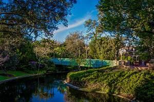 Wallpapers, Anaheim, California, Disneyland, Usa, Hdri, Nature, Bridges