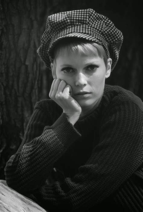 beautiful portraits  mia farrow    art sheep