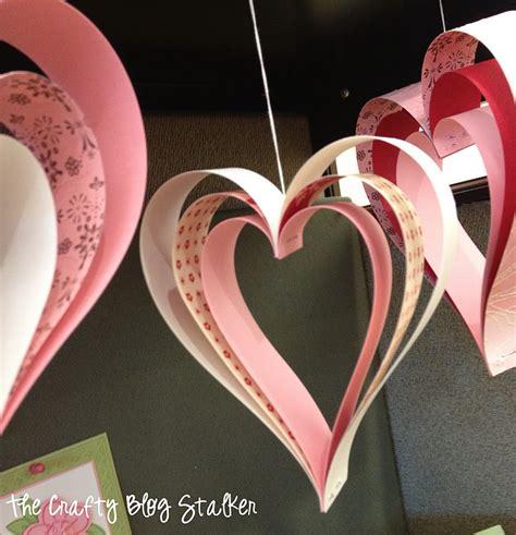 paper strip hearts  crafty blog stalker