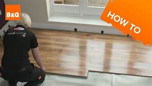 How to lay flooring part 3 laying locking laminate youtube for How to lay down laminate flooring