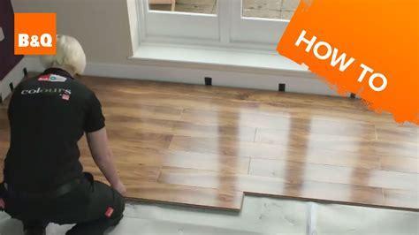 How to lay flooring part 3: laying locking laminate   YouTube
