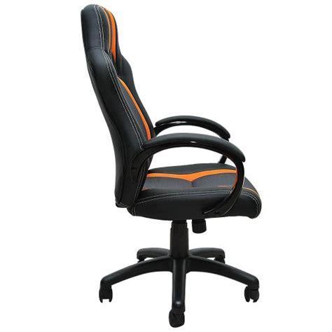 siege de bureau gamer fauteuil chaise de bureau ergonomique gamer pc siège noir