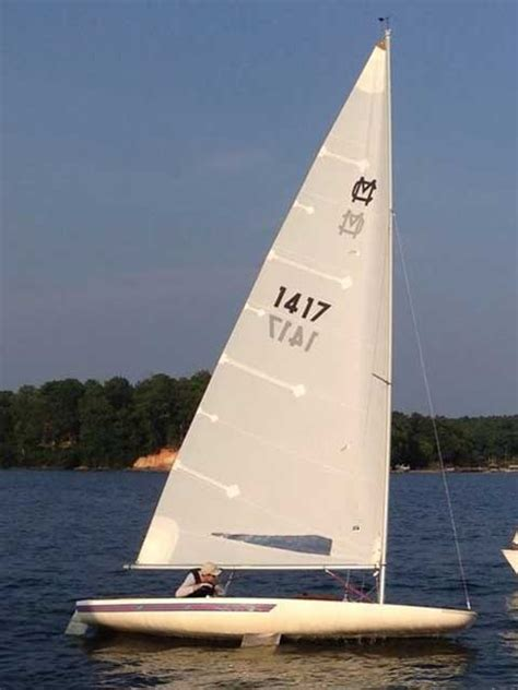 Scow Sailboat For Sale by Melges Mc Scow 1992 Carolina Sailboat
