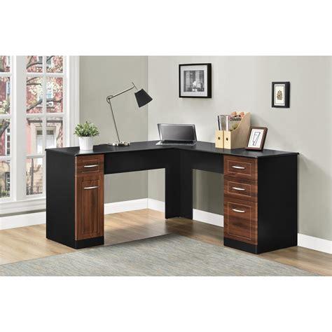 ameriwood l shaped desk assembly ameriwood furniture avalon l desk black cherry