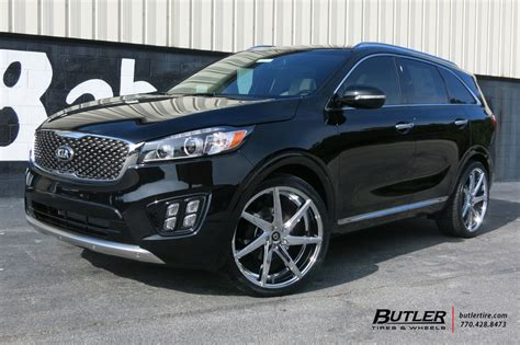 kia sorento   lexani css wheels exclusively