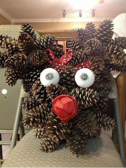 Pine Cone Christmas Decorations Crafts Craft Diy