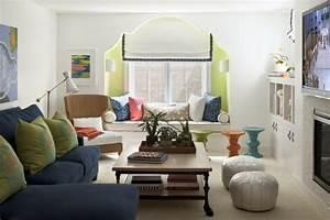 Wohnzimmer Ideen Bilder : ideen f r das kleine wohnzimmer 30 inspirierende bilder ~ Markanthonyermac.com Haus und Dekorationen