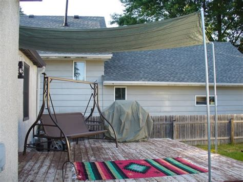 Check spelling or type a new query. Diy Sun Shade For Your Patio Or Terrace | Shelterness | Backyard shade, Patio shade, Pergola ...