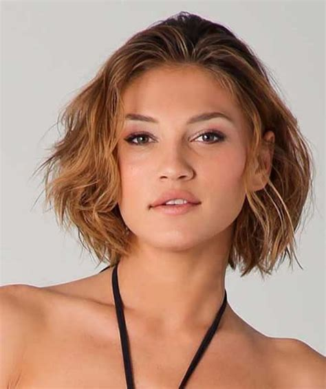 short hairstyles for thick wavy hair the best short