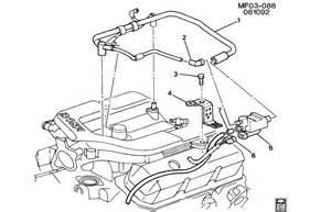 chevy camaro v6 supercharger vapor canister lines valve