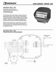 Variable Speed Control Wiring Diagram