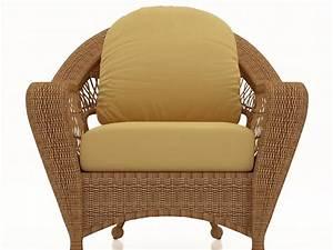Rattan Sofa Wicker Cushion And Back Seat Cushion