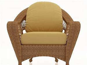 rattan sofa wicker cushion and back seat cushion With seat covers for cane furniture
