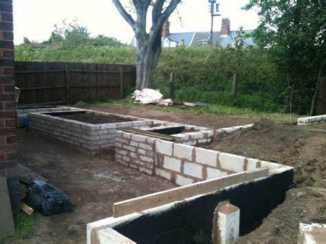 rendering garden blockwork retaining walls plastering