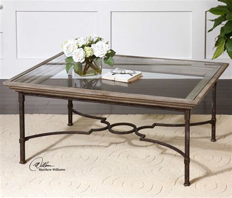 Uttermost Glass Coffee Tables by Uttermost Huxley 42 X 30 Rectangular Wooden Coffee Table