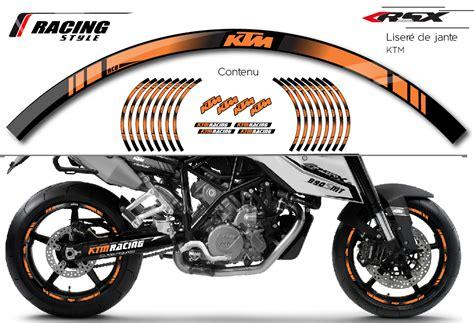 klemens design kit deco ktm wheel stripes mx ktm lje ktm racing rsx design kit deco racing