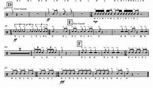 Percussion and Drum Stuff: Snare Drum Sheet Music: Verbatim