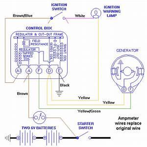 Generator Regulator Wiring Diagram