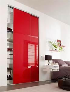 optez pour un placard partition coulissant sur mesure With porte de garage avec porte interieur noir