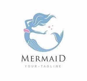 Mermaid Logo & Business Card Template - The Design Love