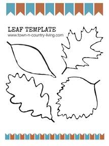 Fall Leaf Templates Printable