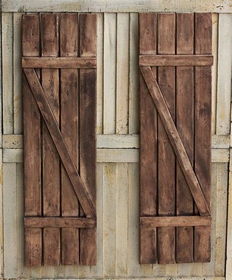 These Rustic Shutters Are Beautiful Unique Way