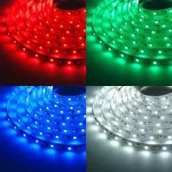 colored led light strips rgbw led strip lights 12v led tape light w white and