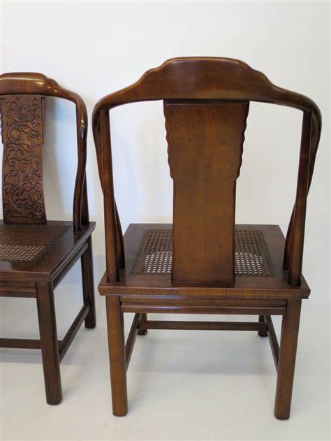 henredon dining room chairs set of mahogany henredon