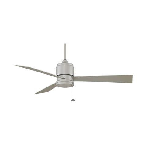 modern ceiling fan light modern ceiling fan without light in satin nickel finish