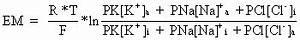 Permeabilität Berechnen : 1 das ruhemembranpotential notizblog digital ~ Themetempest.com Abrechnung