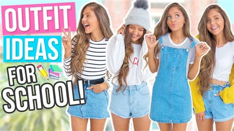 Outfit Ideas For School 2017! Comfy & Cute Back To School