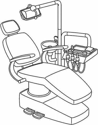 Dentist Clipart Tools Chair Clip Tool Drawing